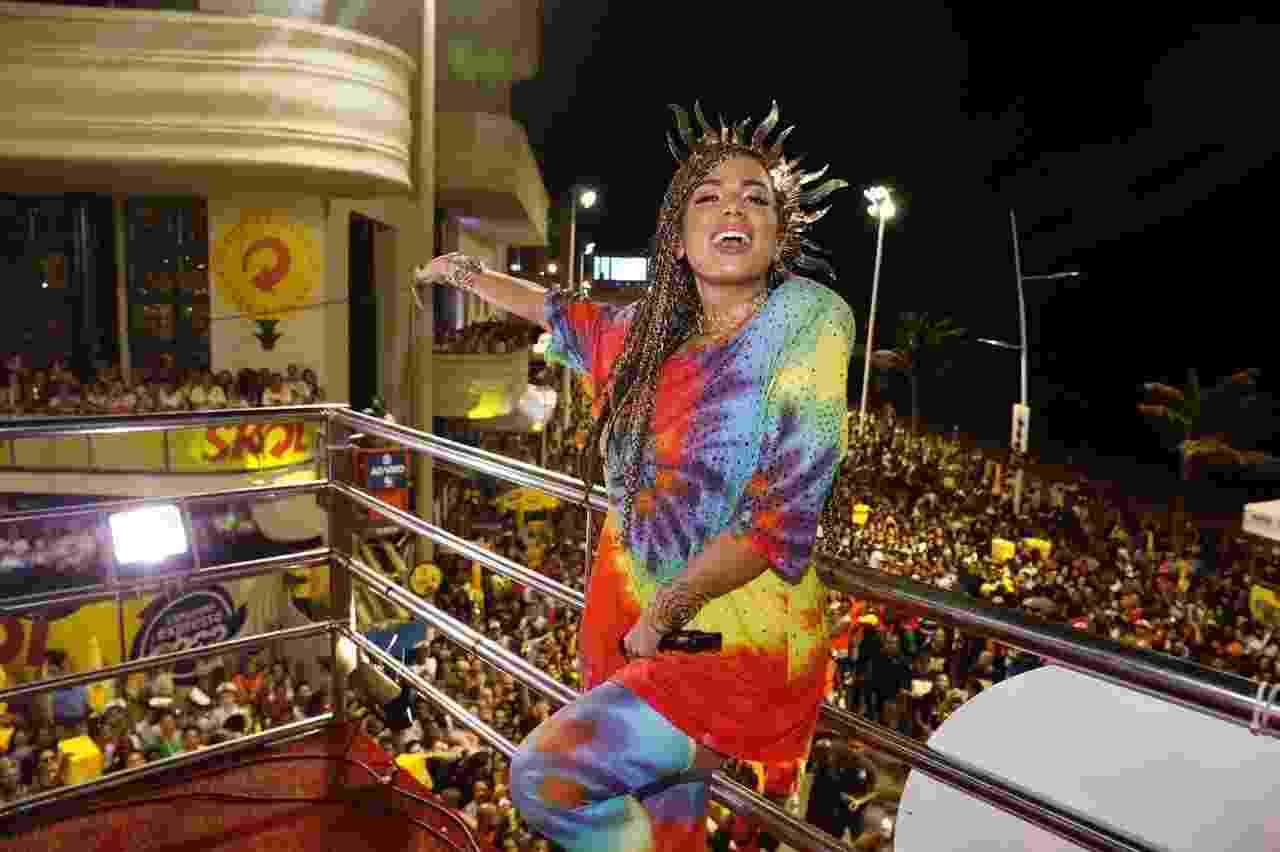 Anitta comanda trio no Carnaval de Salvador - Felipe Panfilli/Divulgação