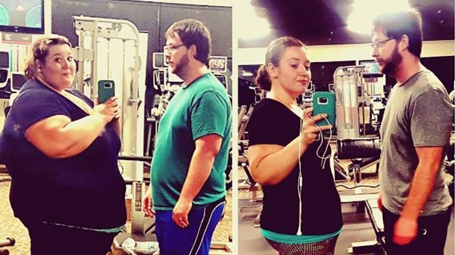 Os americanos Lexi e Danny só comiam frituras e junk food - Reprodução/Instagram