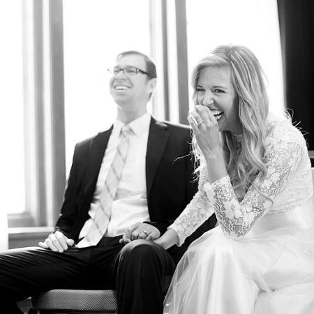 Casal no dia da cerimônia - Reprodução/Brittney Miller/Stolen Moments Photography