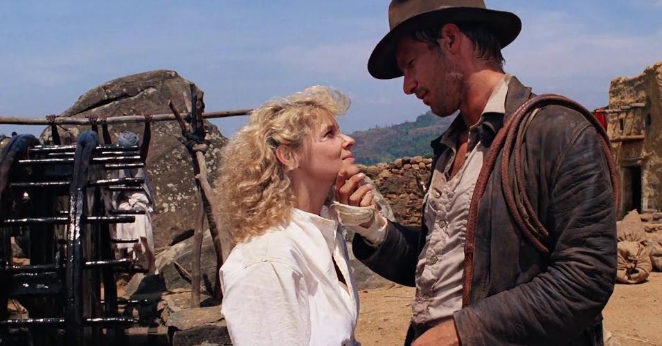 """Cena de """"Indiana Jones e O Templo da Perdição"""" (1981), de Steven Spielberg"""