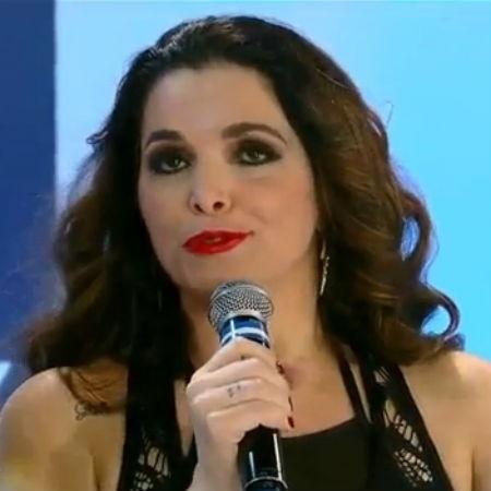 """Luiza Ambiel conta que """"apanhava demais"""" na """"Banheira do Gugu"""" e que chegou a fazer jiu-jitsu para o quadro - Reprodução/RecordTV"""