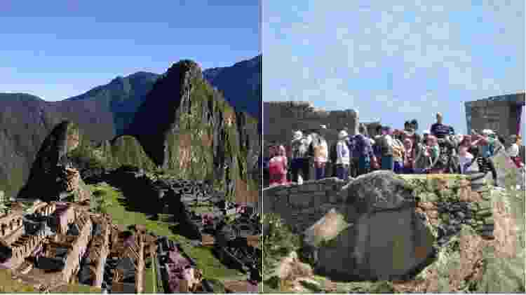 Montagem Machu Picchu - CharlesJSharp/Creative Commons - Bobistraveling/Visualhunt CC BY - CharlesJSharp/Creative Commons - Bobistraveling/Visualhunt CC BY