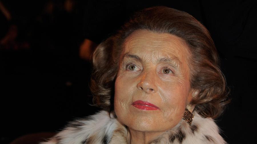 Liliane Bettencourt era a 14ª pessoa mais rica do mundo, segundo a lista da Forbes - Getty Images