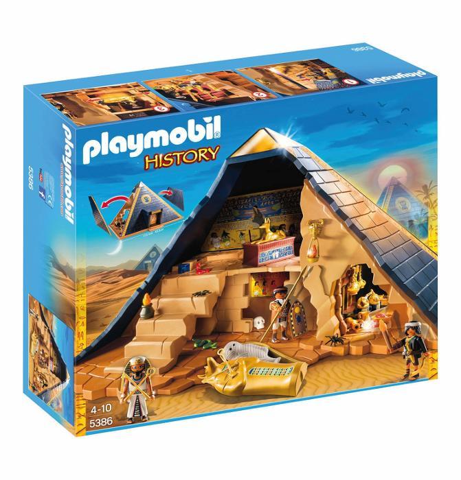 Pirâmide do Faraó Playmobil, R$ 699,99, Sunny (www.sunnybrinquedos.com.br)