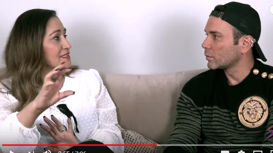 Sônia Abrão é entrevistada por Matheus Mazzafera - Reprodução/YouTube