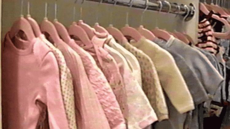 O guarda-roupa da filha de Kylie Jenner - Reprodução/Youtube - Reprodução/Youtube
