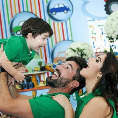 Sandro Pedroso e Jéssica Costa comemoram 2 anos do filho, Noah - Reprodução/Instagram/sandropedroso