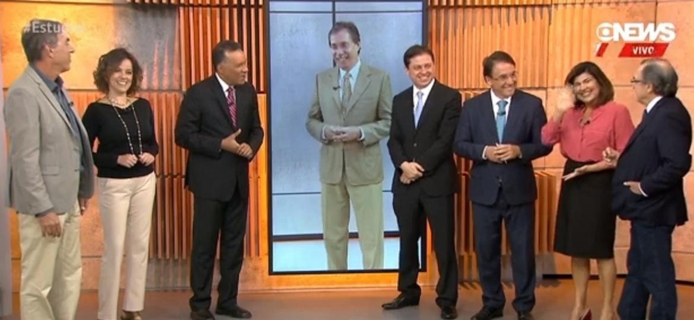 """Com Heraldo Pereira, Globo News muda """"Jornal das 10"""" de SP para Brasília - Reprodução/Globo News"""