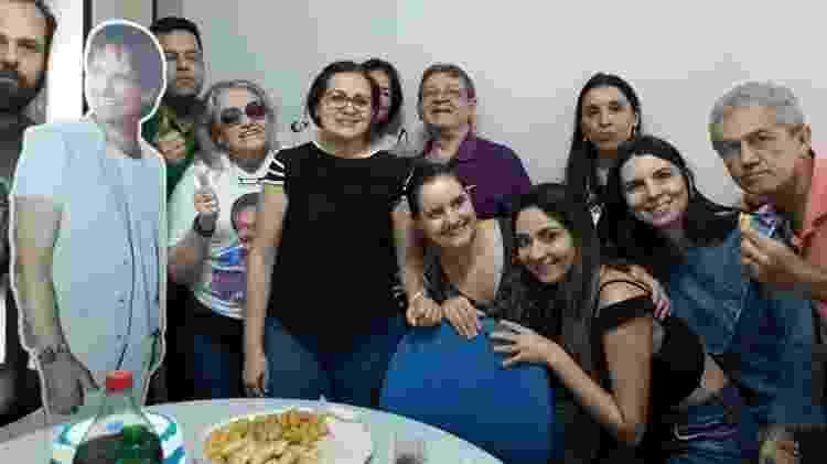 Festa de aniversário para Roberto Carlos - sem Roberto Carlos - Arquivo Pessoal - Arquivo Pessoal