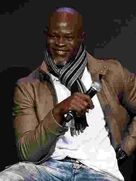 O ator Djimon Hounsou - Slaven Vlasic/Getty Images