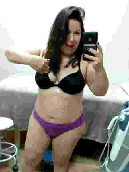 Mariana Xavier posa de lingerie e garante