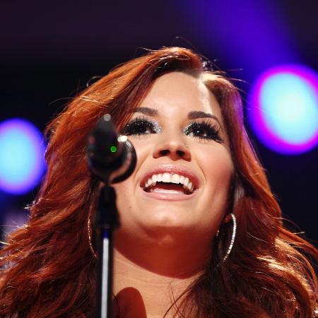 A cantora Demi Lovato, que foi internada às pressas - Carlo Allegri/Reuters