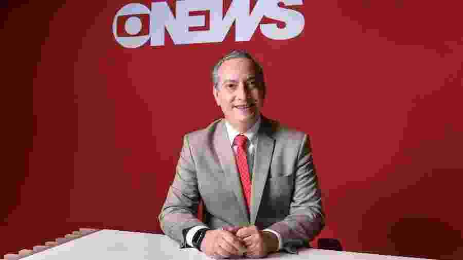 O jornalista José Roberto Burnier - Ramon Vasconcelos/ TV Globo