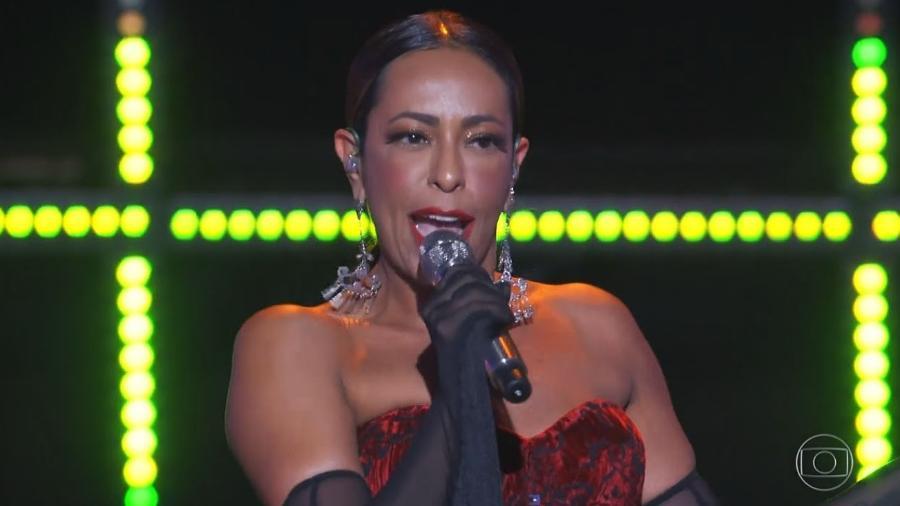 """Samantha Schmutz no programa """"PopStar"""" - Reprodução/TV Globo"""