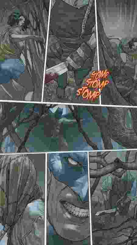 """Arte de """"Cursed Comics Cavalcade"""", roteirizada por Gary Dauberman, de """"It: A Coisa"""" e """"A Freira"""" - Reprodução/TheHollywoodReporter - Reprodução/TheHollywoodReporter"""