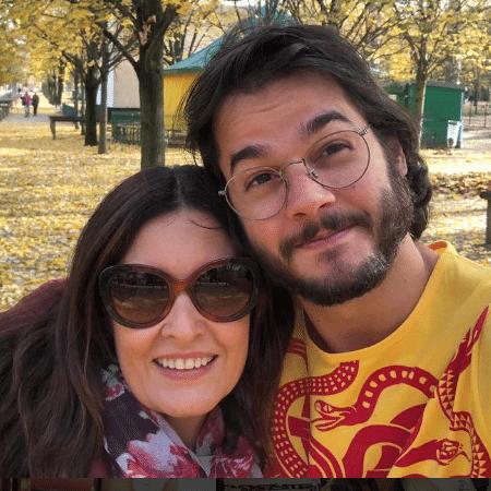 Fátima Bernardes e Túlio Gadêlha no Jardim de Luxemburgo em Paris - Reprodução/Instagram