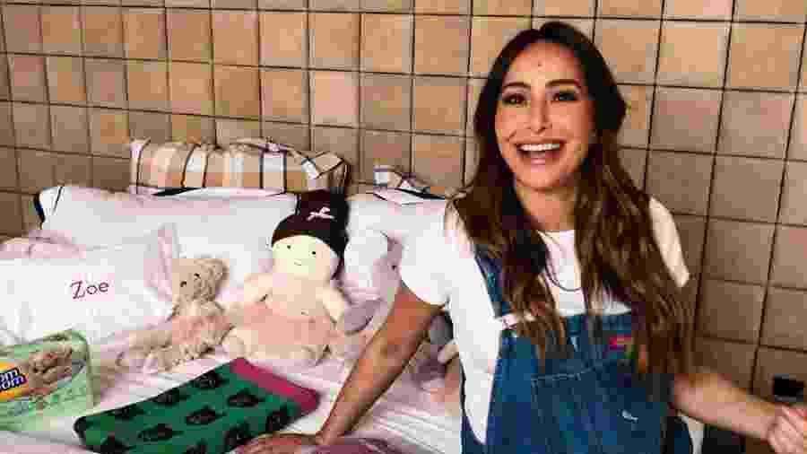 Sabrina Sato compartilha preparo de mala de maternidade em vídeo - Sabrina Sato/Reprodução YouTube
