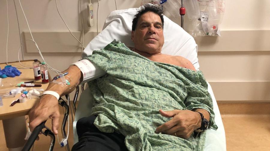 Ator Lou Ferrigno foi hospitalizado após tomar uma vacina contra pneumonia - Reprodução/Twitter