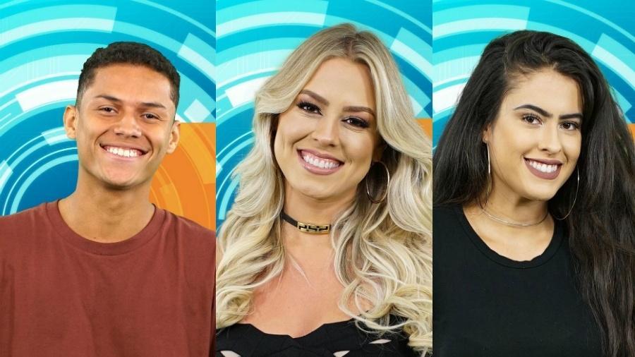 Danrley, Isabella e Hana foram acusados de mentirem - Reprodução/Globo/Montagem UOL