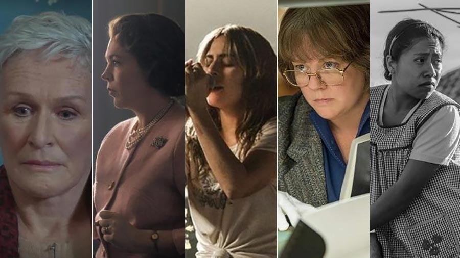 Atrizes indicadas ao Oscar de 2019 - Divulgação