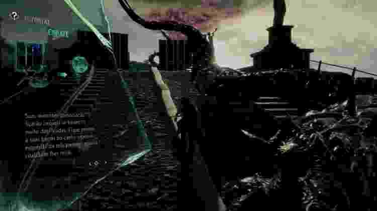 """""""V"""" pode usar invocações demoníacas para enfrentar seus inimigos durante a progressão. - Reprodução"""