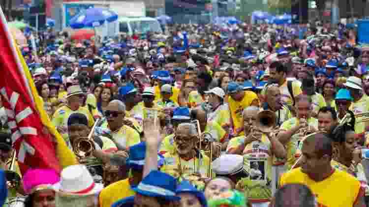 Tradicional Banda de Ipanema arrasta foliões no Rio de Janeiro - Douglas Shineidr/UOL
