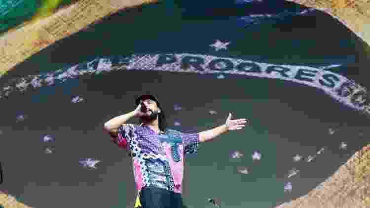 Gabriel, o Pensador, se apresenta no Lollapalooza 2019 - Iwi Onodera/UOL - Iwi Onodera/UOL