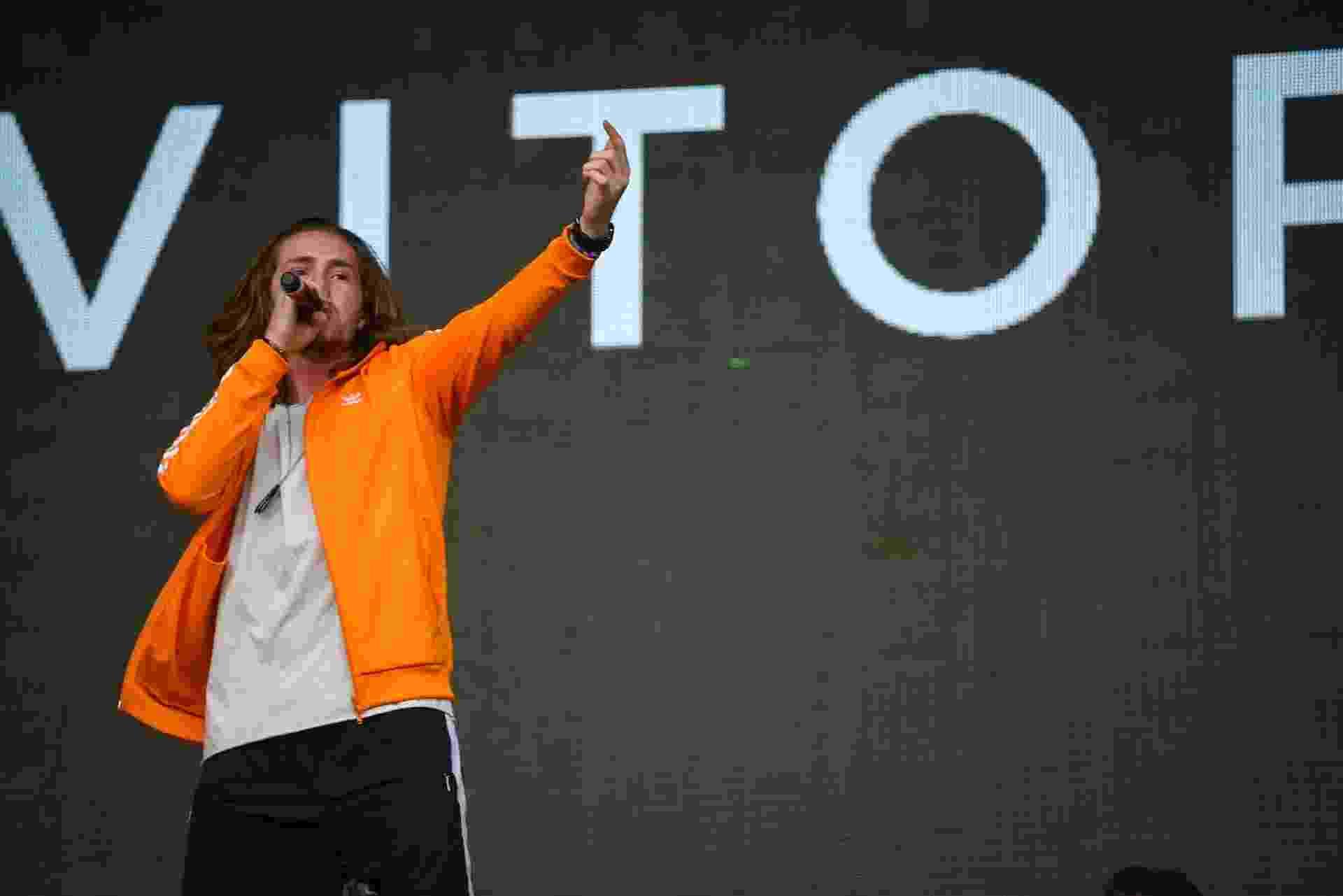 Vitor Kley se apresenta com os duos Chemical Surf e Dubdogz no Lollapalooza - Flavio Moraes/UOL
