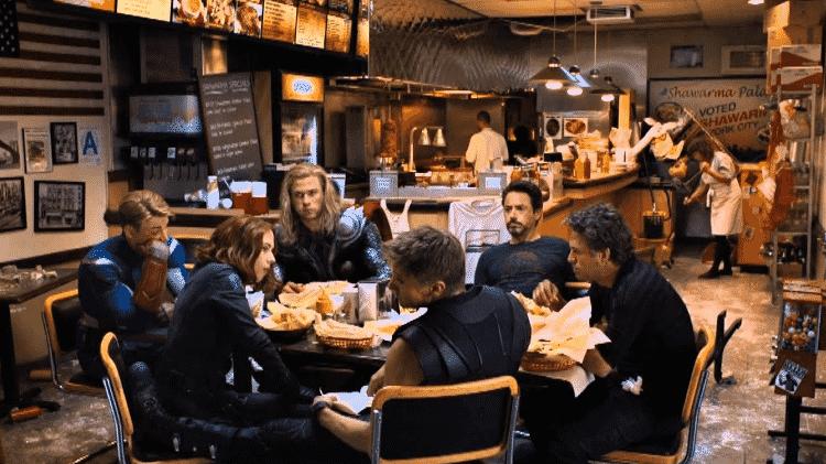 Cena de The Avengers: Os Vingadores - Reprodução