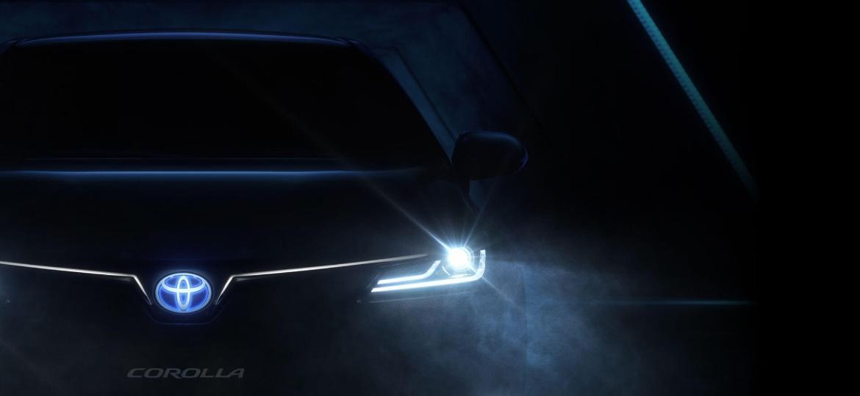 Hotsite criado para Novo Toyota Corolla leva a cadastro de informações - Reprodução