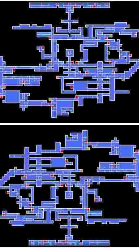 Castlevania Mapa - Reprodução - Reprodução
