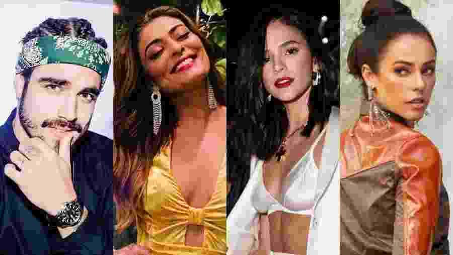 Caio Castro, Juliana Paes, Bruna Marquezine e Paola Oliveira - Reprodução/Instagram