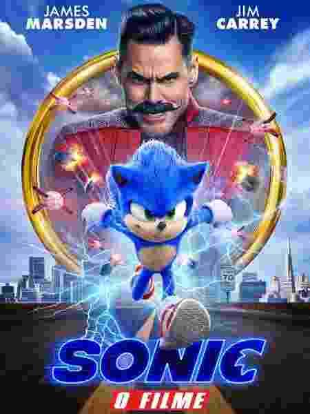 Pôster de Sonic: O Filme - Divulgação - Divulgação