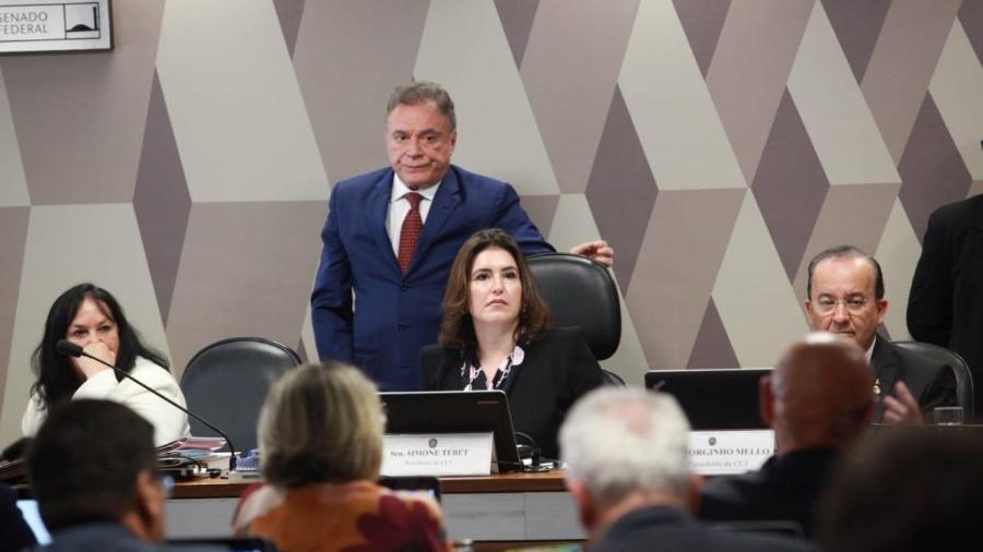 O assunto se tornou prioridade no Senado após a decisão do STF no último dia 7 - Roberto Castello/Ascom Simone Tebet