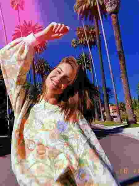 Camila Queiroz em Beverly Hills - Reprodução/Instagram