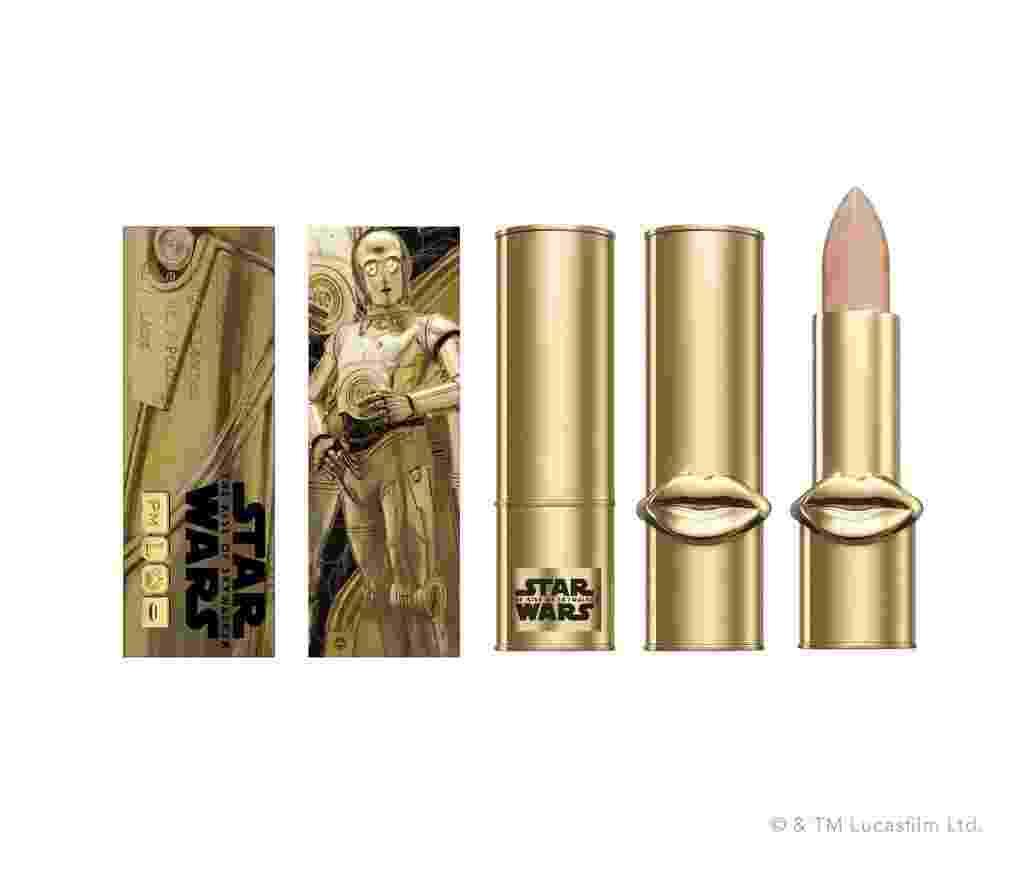 Lip balm Lip Fetish Gold Astral, dourado como C-3PO - Divulgação/Pat McGrath Labs