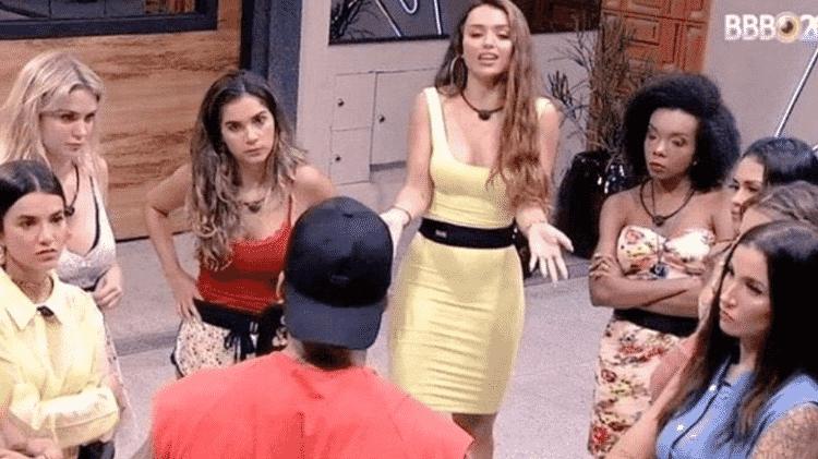Mulheres do BBB 20 se uniram para confrontar participantes machistas - TV Globo/Reprodução