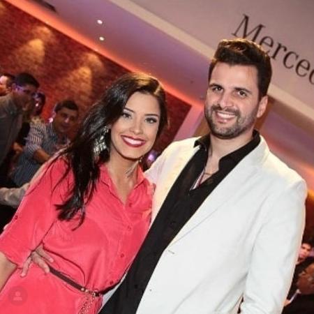 Ivy e o ex-marido, Rogério Fernandes - Arquivo Pessoal