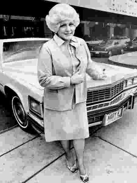 Fundadora da Mary Kay, a Mary Kay Ash inaugura loja em 1978 - Graham Bezant/Toronto Star via Getty Images - Graham Bezant/Toronto Star via Getty Images