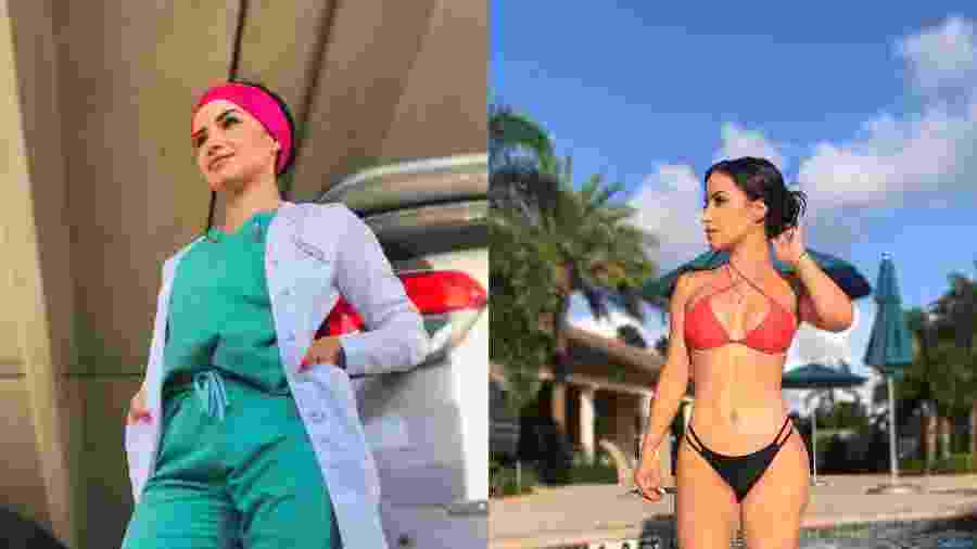 Medbikini: médicas postam fotos de biquíni em protesto contra estudo considerado sexista - Reprodução/Twitter/ladaisysanchez