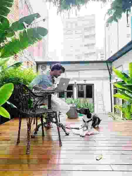 Beto Siqueira que hoje mora no Guest Urban, em São Paulo. - Arquivo pessoal - Arquivo pessoal