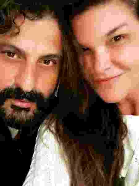 Cristiana Oliveira e Sergio Bianco - Reprodução / Instagram