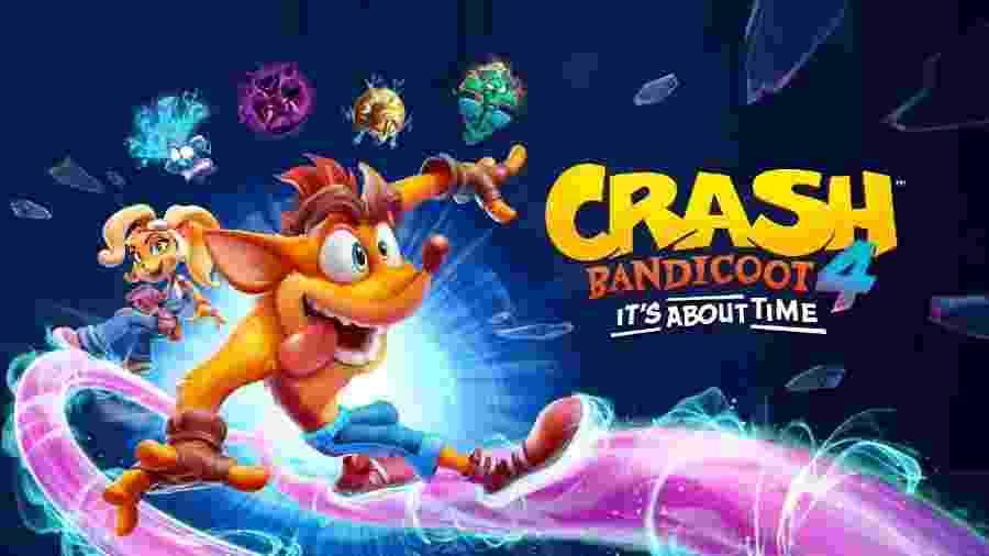 Crash Bandicoot 4 - Divulgação