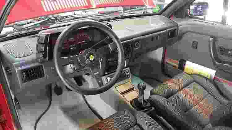 Volkswagen Saveiro GTI By Deni interior - Arquivo pessoal - Arquivo pessoal