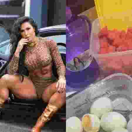 Gracyanne Barbosa exibe sua refeição com combinação diferenciada - Reprodução / Instagram