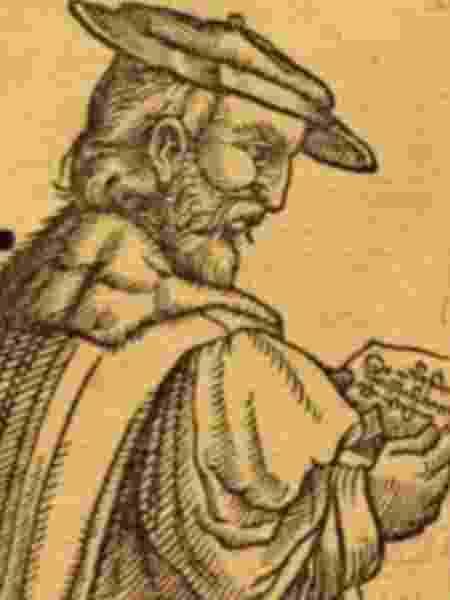 Retrato de Vincent Obsopoeus, por Heinrich Pantaleon (1566) - MSFontaine  - MSFontaine