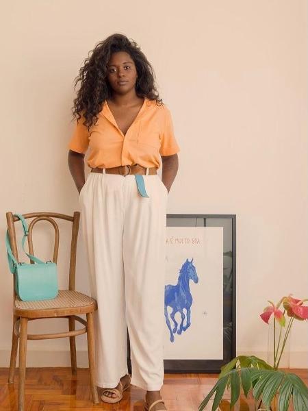A produtora de moda Naiara Albuquerque relata um episódio de racismo em loja do Shopping Iguatemi - Johnny Moraes