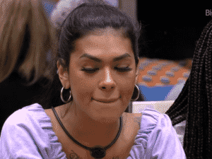 BBB 21: Pocah chora após não ser sorteada - Reprodução/Globoplay - Reprodução/Globoplay