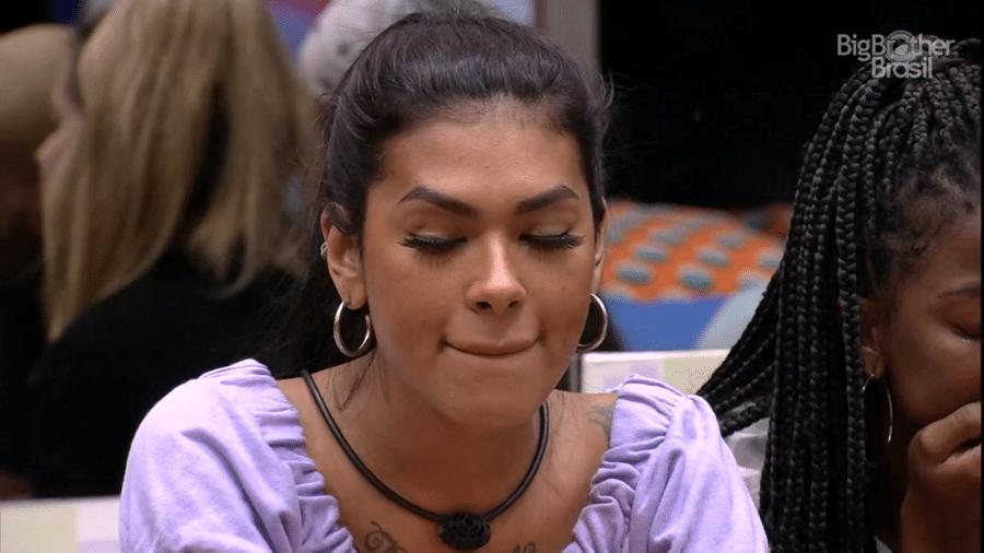 BBB 21: Pocah chora após não ser sorteada - Reprodução/Globoplay