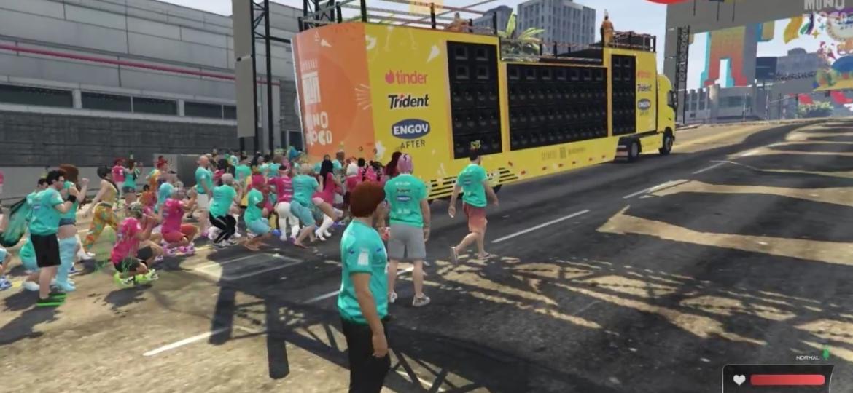 Carnaval 2021 GTA  - Reprodução/START